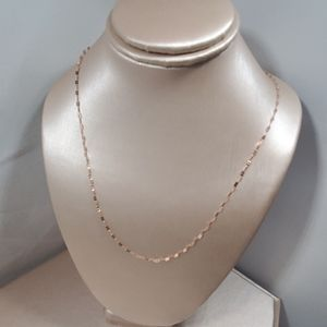 Jewelry - Nwot, 14 k rose gold clover chain